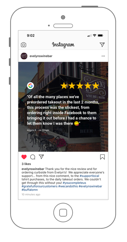 review-instagram-evelyns-takeout